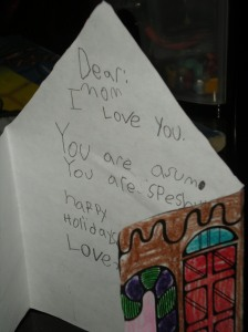 Mom You Are Asum by Shain Johnson [ 5 years old at time of writing]