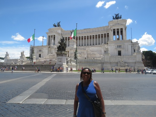 Marvalous at the Piazza Venezia at the foot of the Capitoline in the heart of Rome.