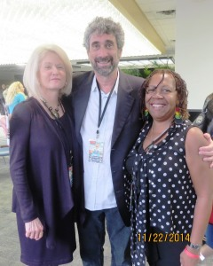 Marva with Mitch Kaplan & Elizabeth Shown Mills